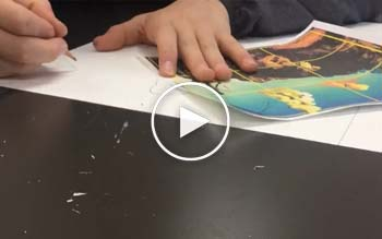 Timelapse video of SJP Middle School Arts