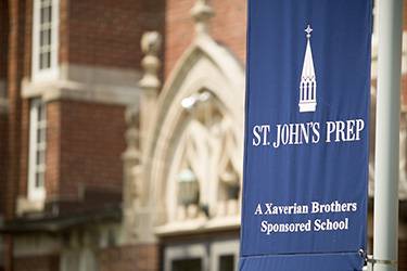 St. John's Catholic Prep School Flag